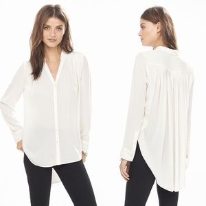 NWT Express Pleated Button Down Top